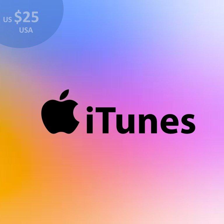 iTunes US $25