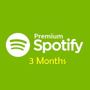 Spotify Premium - 3 months